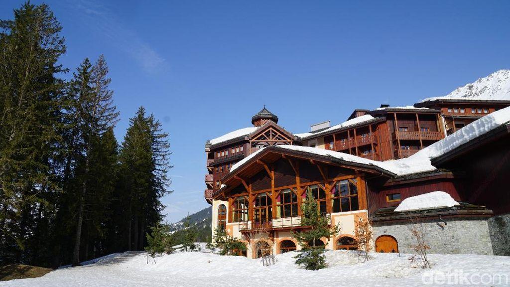 Begini Rasanya Menginap di Resort Ski Mewah Prancis