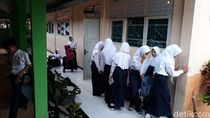 Siswa SMP di Kulon Progo Panik Listrik Padam saat UNBK