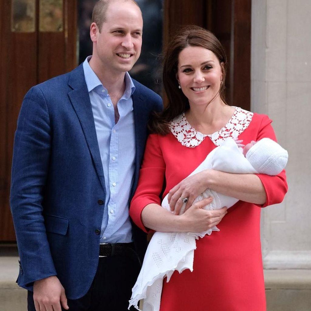 Kekhawatiran Pangeran William Usai Kate Middleton Lahiran Anak Ketiga