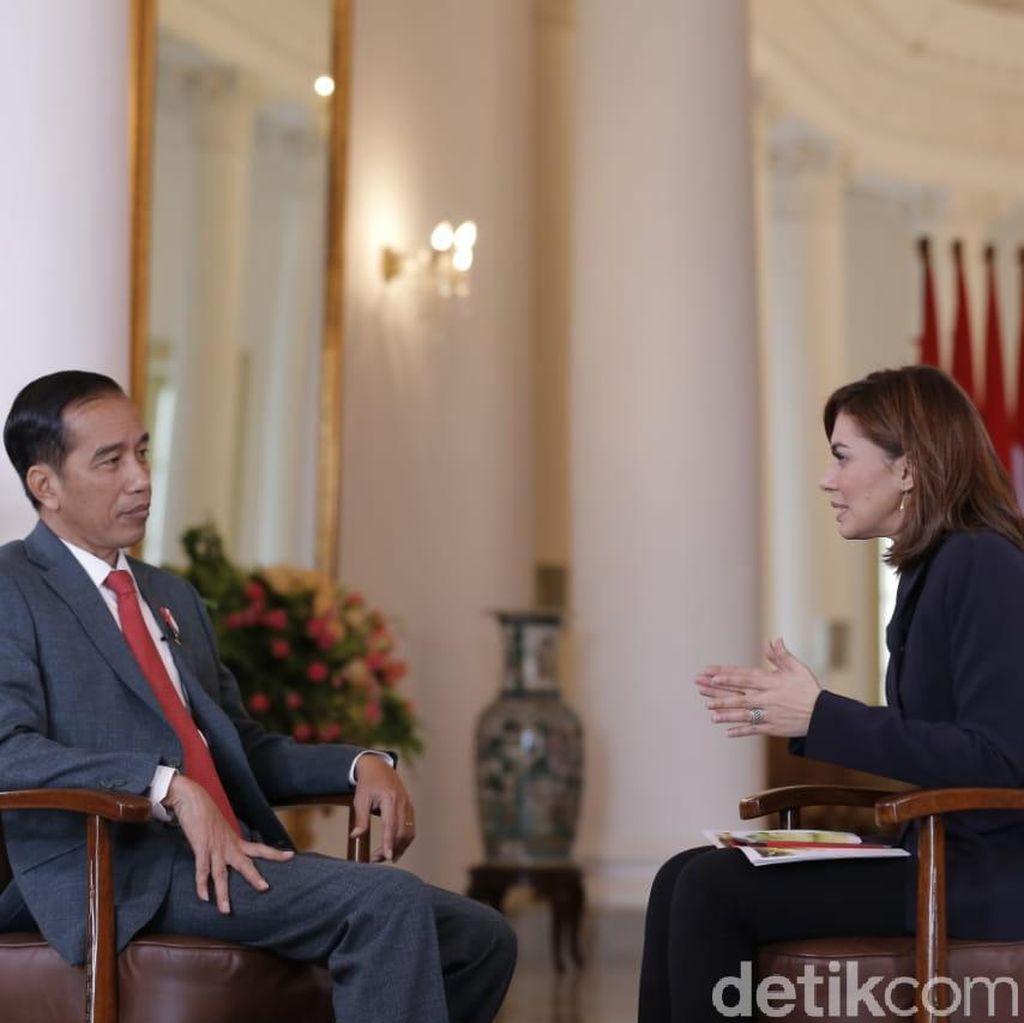Jokowi Bicara Peluang Gandeng Prabowo di Pilpres 2019