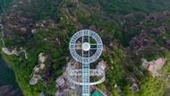 China Punya Balkon Kaca Terbesar di Dunia, Ngeri Nggak?