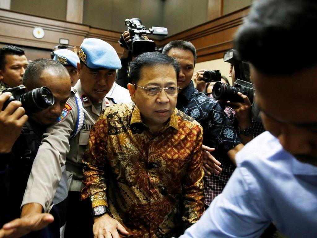 Cerita Novanto Berkali-kali Pingsan dan Muntah Usai Kecelakaan