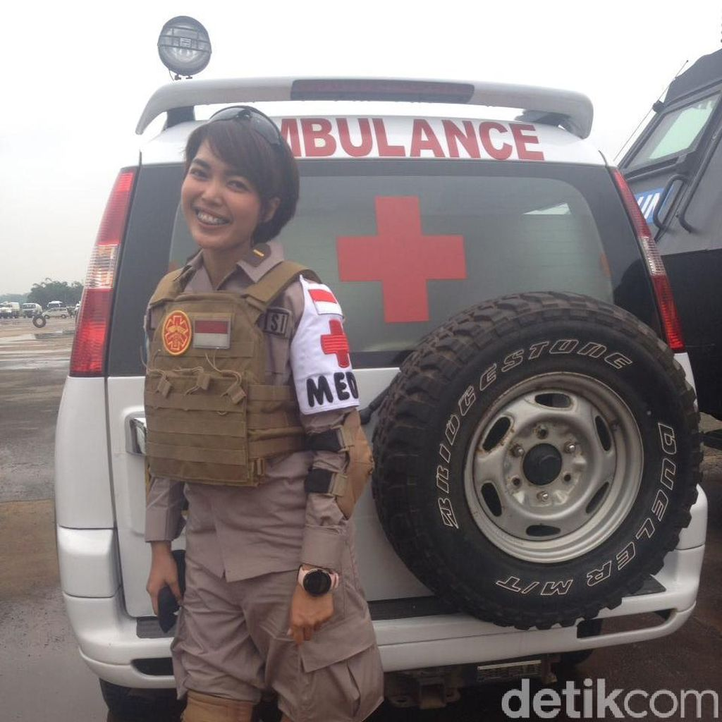 Ini Ipda Ria, Dokter Polwan Pertama untuk Misi Perdamaian PBB