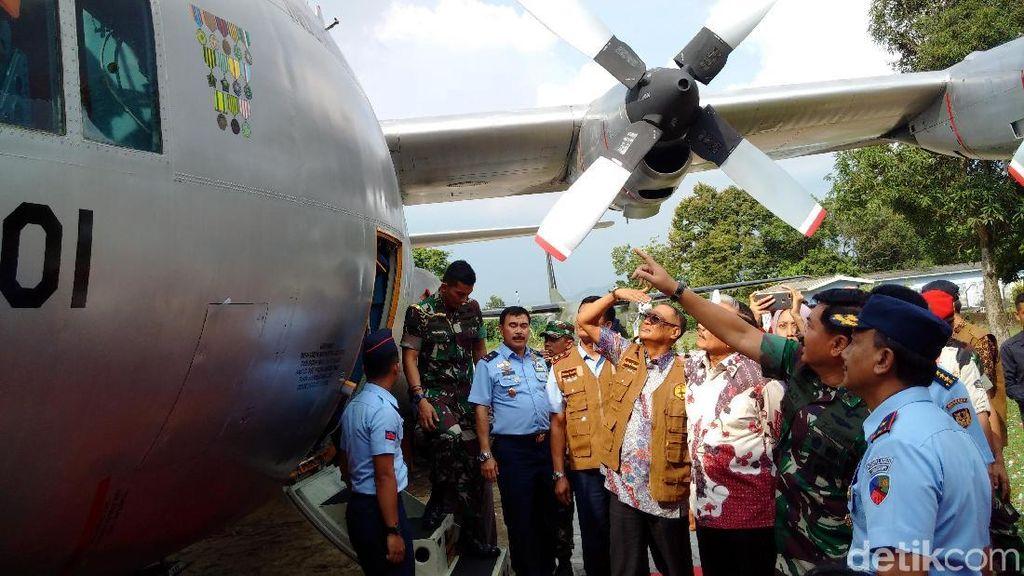 Panglima TNI Resmikan 4 Pesawat Koleksi Museum Dirgantara