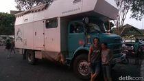 Keluarga Austria yang Keliling Dunia Kagumi Keramahan Indonesia