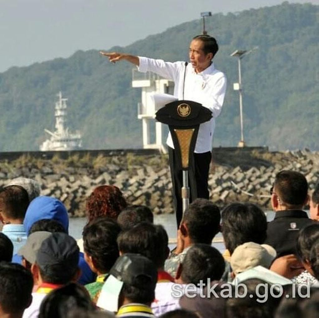 Saat Jokowi Goda Susi: Kelihatannya Pengin Jadi Wapres