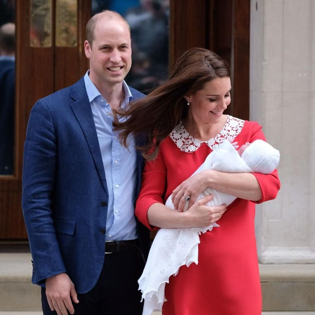 Tribut Kate Middleton untuk Putri Diana Usai Lahiran Anak ke-3
