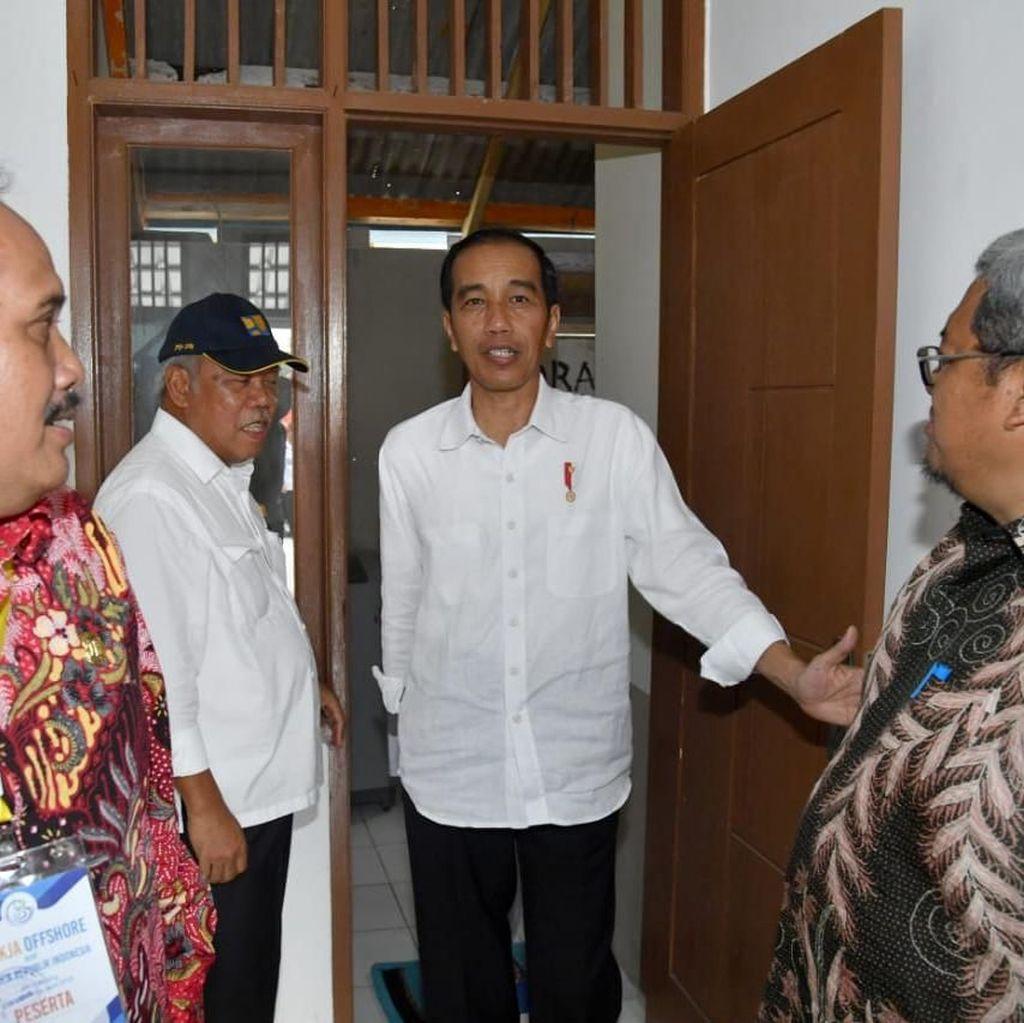 Jokowi: Calon Tunggal Tak Baik untuk Demokrasi