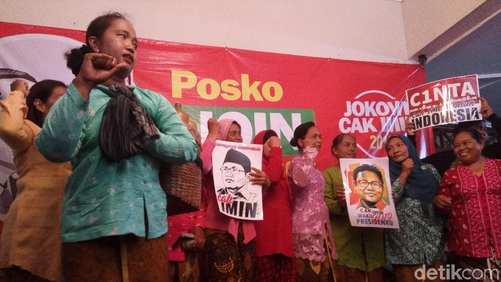 Dirikan Posko Jokowi-Imin di Solo, Relawan Ajak Penjual Jamu