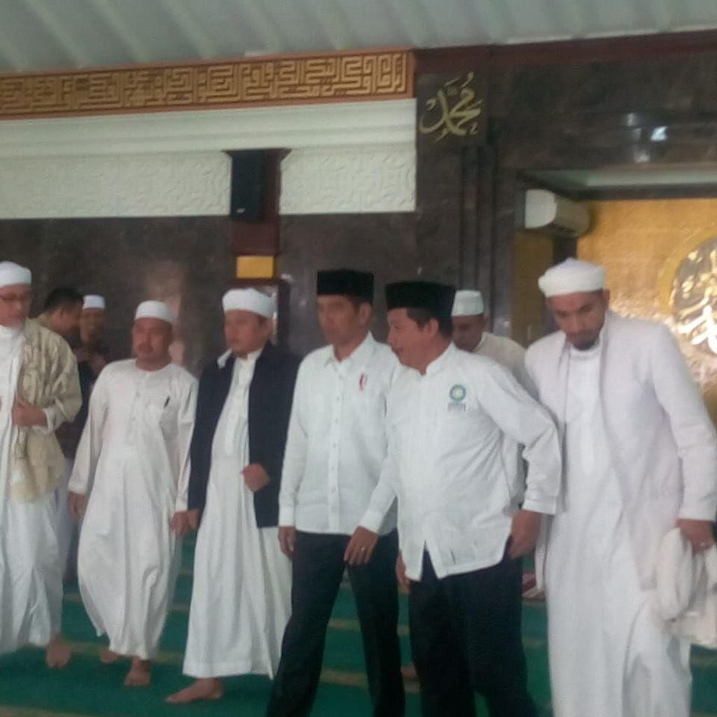 PA 212: Pertemuan dengan Jokowi Berlangsung di Istana Bogor