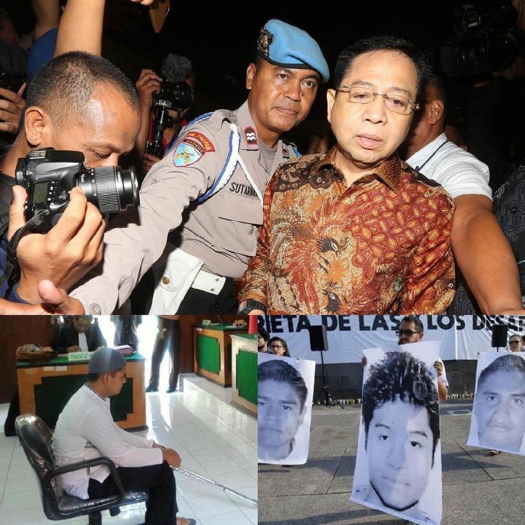 Berita Heboh: Novanto Divonis 15 Tahun, Amien Ramal Anies