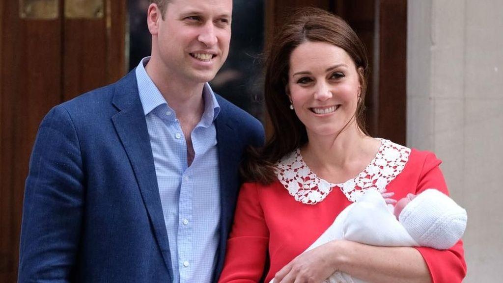 Video: Muncul Perdana dengan Anak Ketiga, Kate Middleton Cantik Banget
