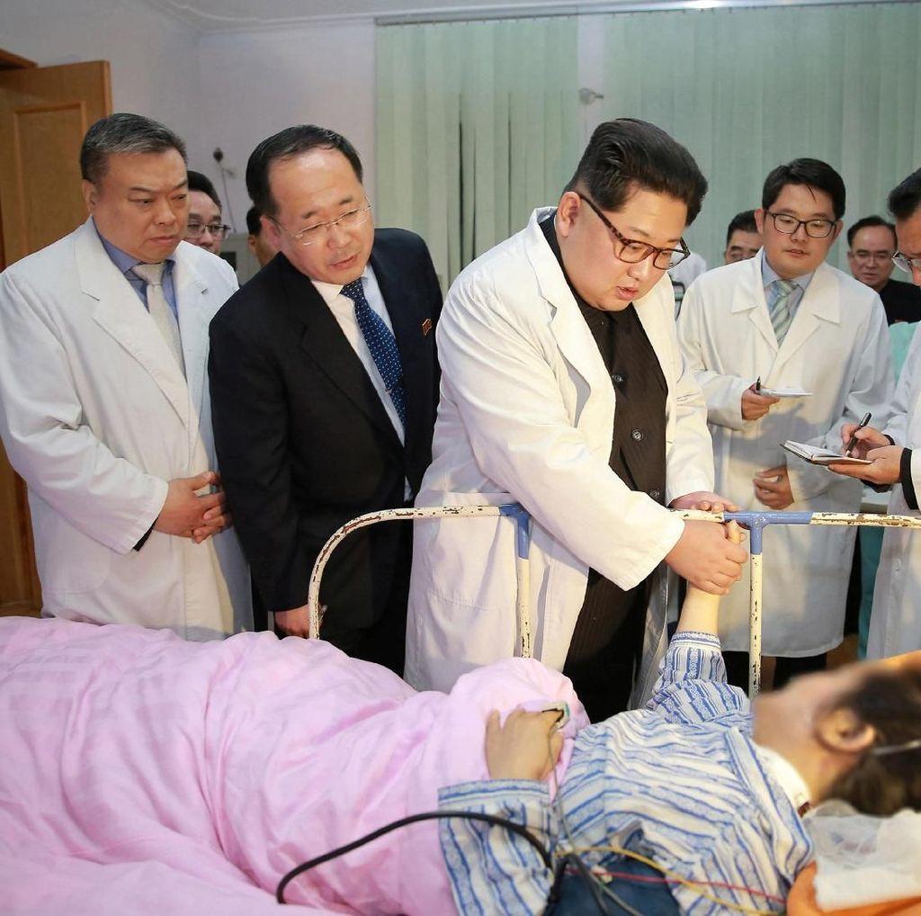 Kim Jong-Un Minta Maaf pada China Atas Kecelakaan Bus Maut