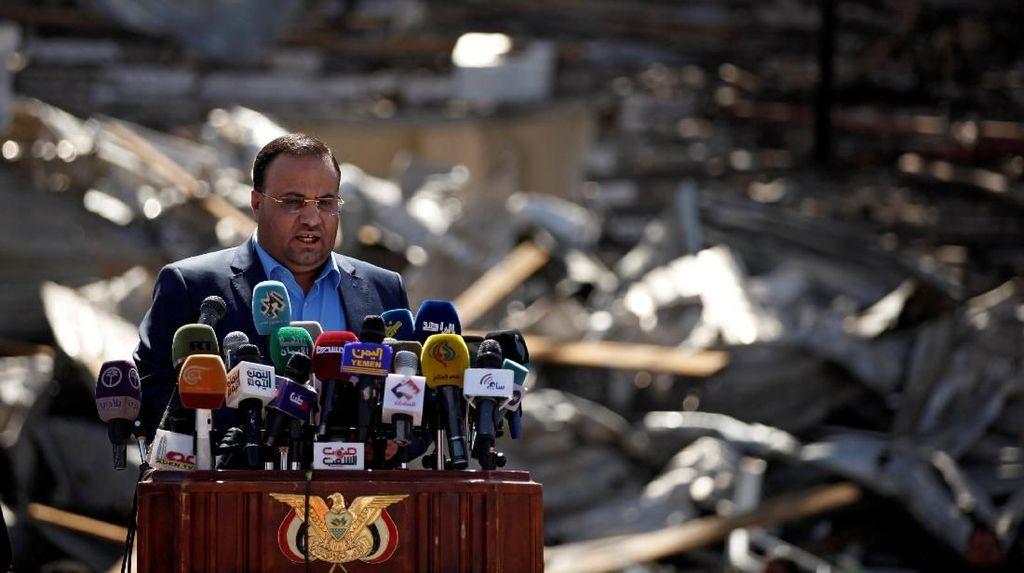 Serangan Arab Saudi di Yaman Tewaskan Pejabat Tinggi Houthi
