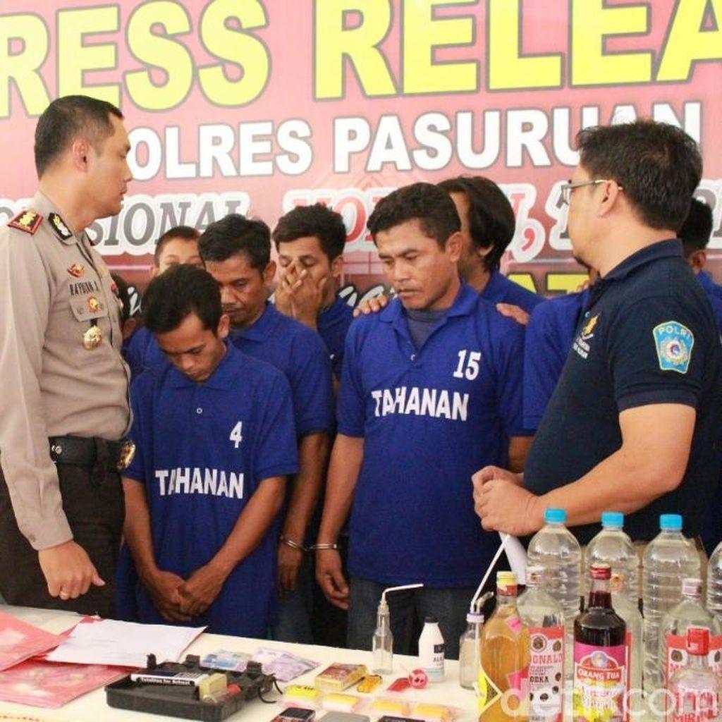 Berkomplot Edarkan Sabu, Seorang Brigadir Polisi Dibekuk