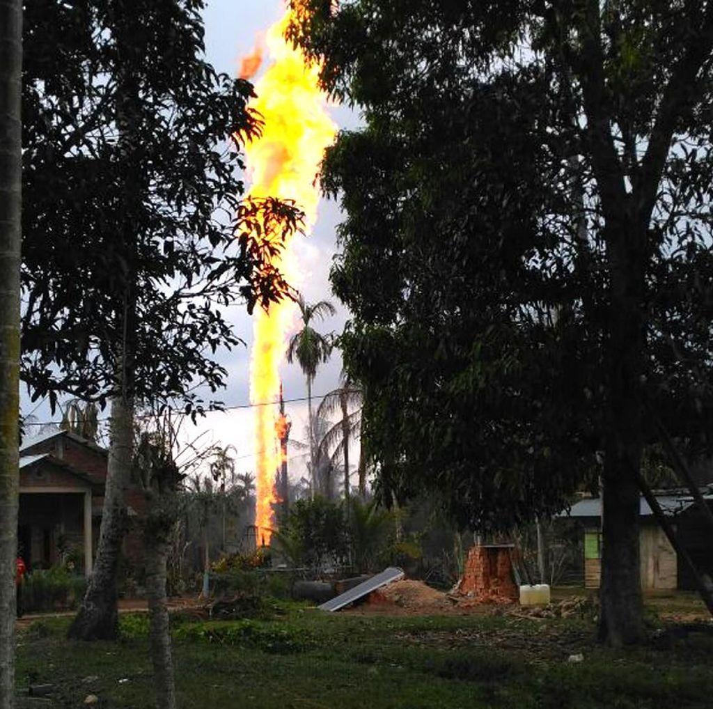 Gubernur Aceh Tahu Sumur Minyak yang Meledak Ilegal