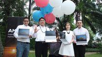 Lenovo Rilis Laptop Super Tipis Berotak AMD Ryzen