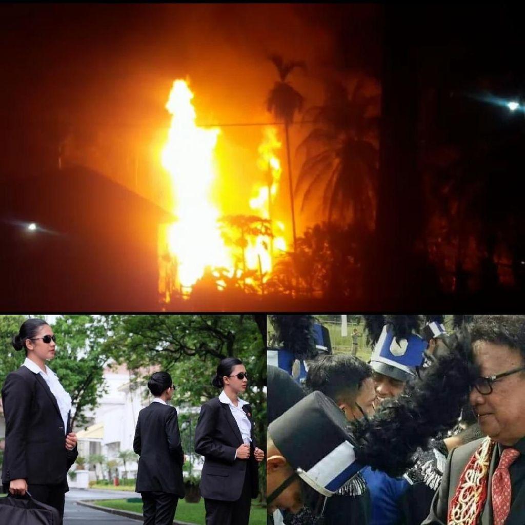 Berita Heboh: PA 212 Ketemu Jokowi, Sumur Minyak Meledak