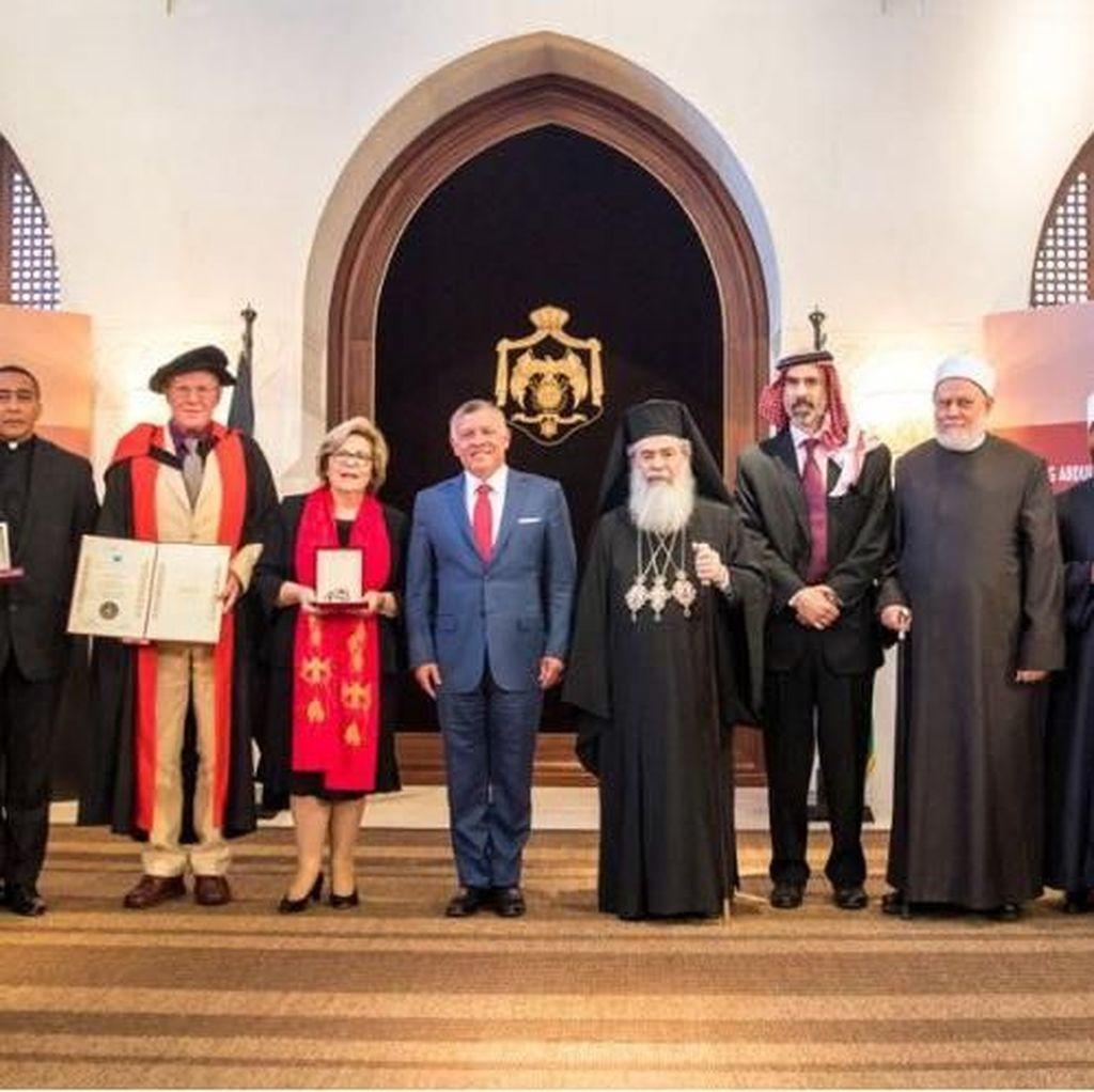 RI Raih Penghargaan Kerukunan Umat Beragama dari Raja Yordania