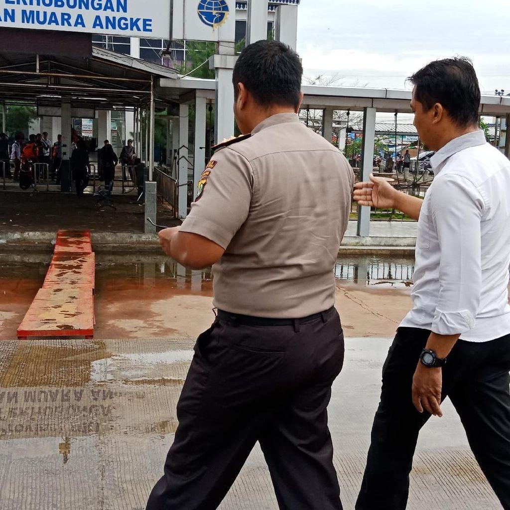 Puslabfor Polri Cek Buritan Kapal Dishub DKI yang Meledak