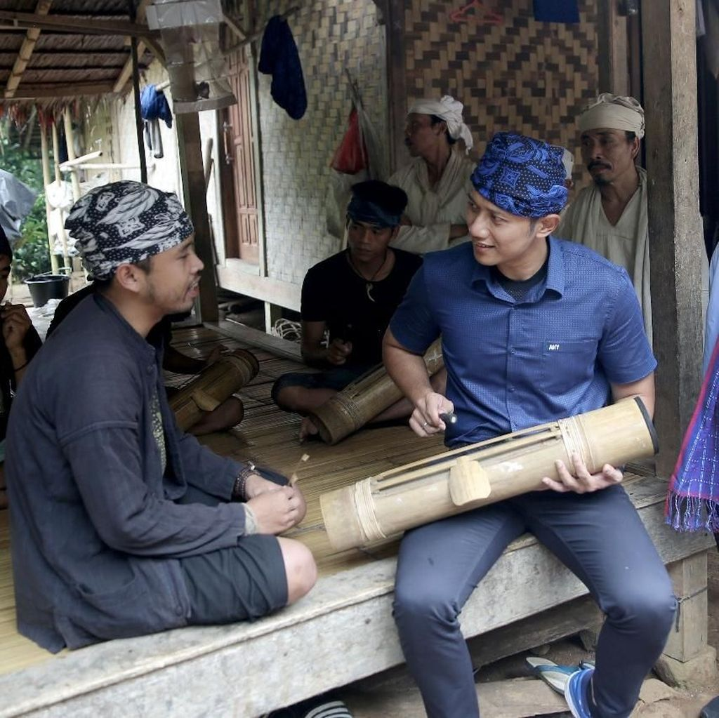 Tour de Banten, AHY Puji Alam Suku Baduy dan Nostalgia di Tangerang