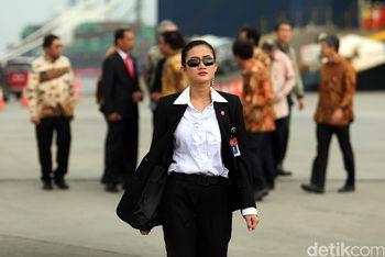 Ini Jokowi's Angels, Paspampres Perempuan yang Kawal Presiden