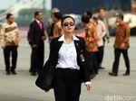Foto; Ini Jokowis Angels, Paspampres Perempuan yang Kawal Presiden