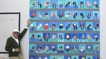 82 Potret Langka Seniman David Hockney Dipamerkan di Los Angeles