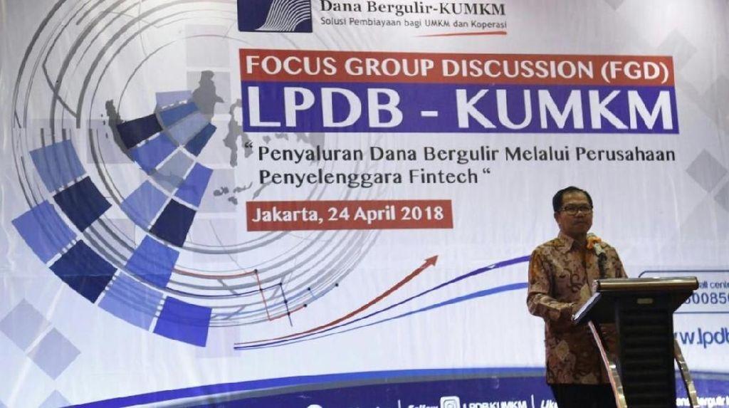LPDB Akan Salurkan Dana Bergulir dengan Fintech