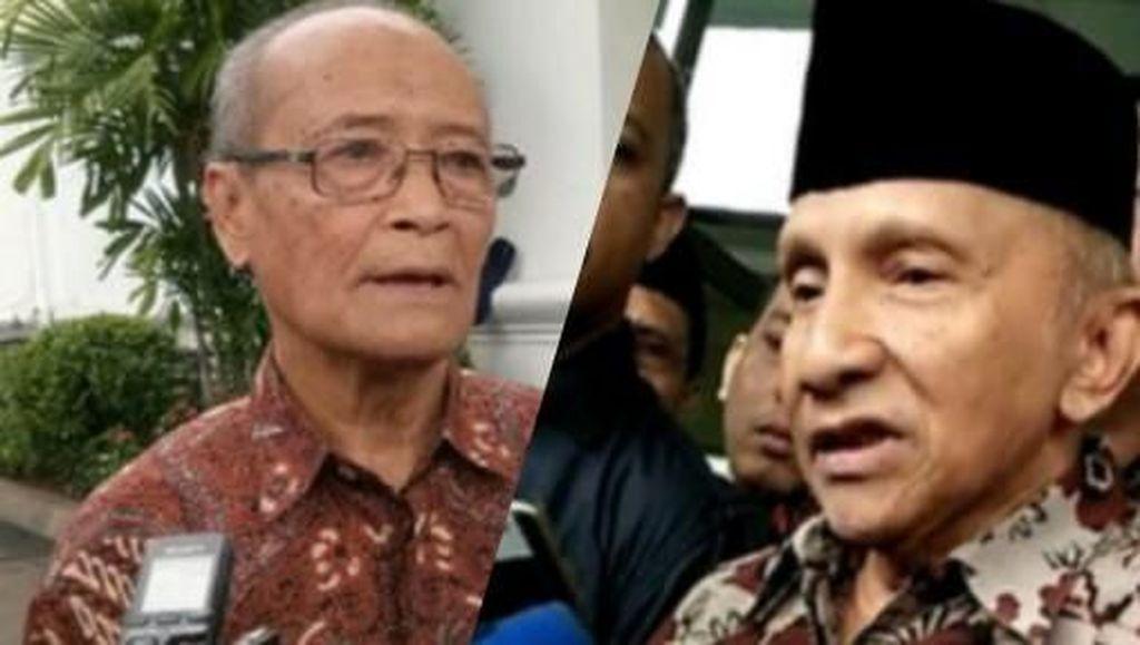 Beda Amien dan Buya Syafii soal 'Pengajian Politik'