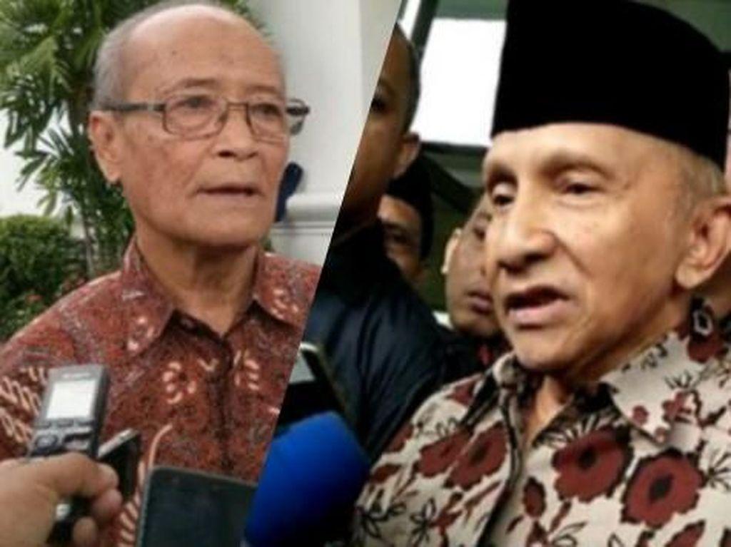 Beda Amien dan Buya Syafii soal Pengajian Politik