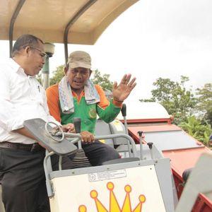 Belajar Pertanian Modern, Puluhan Ketua Poktan Kumpul di Subang