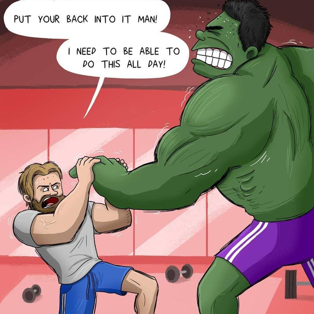 Persiapan Avengers Lawan Thanos dalam Balutan Kartun Kocak