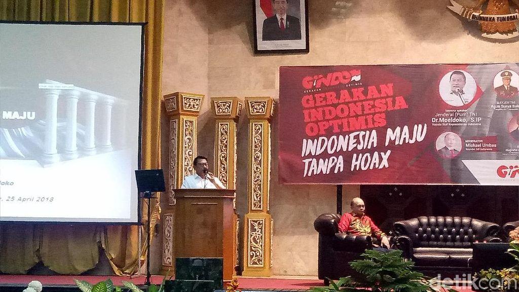 Moeldoko Ajak 2.000 Mahasiswa Makassar Tangkal dan Lawan Hoax