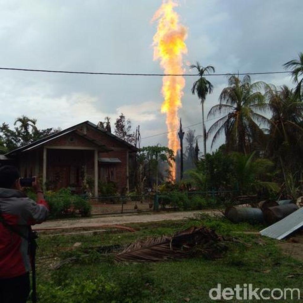 Seorang Korban Sumur Minyak Aceh Timur Meninggal di RS