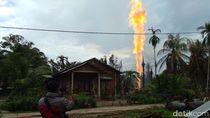 Polisi Selidiki Penyebab Sumur Minyak Meledak di Aceh Timur