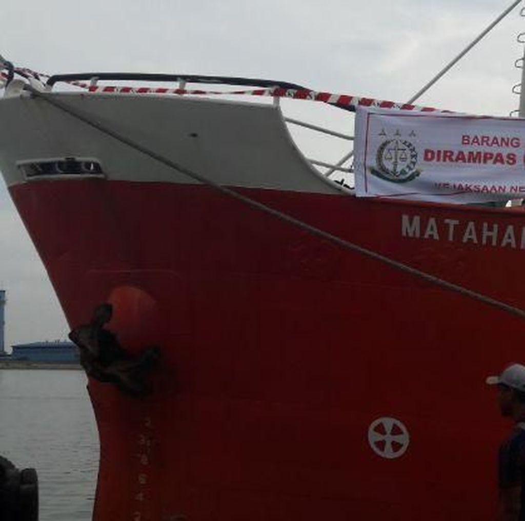 Jaksa Eksekusi Kapal di Batam Terkait Perompakan Tanker Singapura