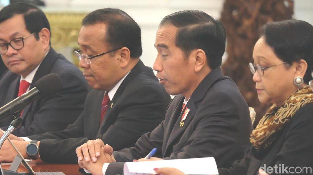 Kepala Eksekutif Hong Kong Sambangi Jokowi, Ini yang Dibahas