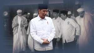 Jokowi Bertemu PA 212