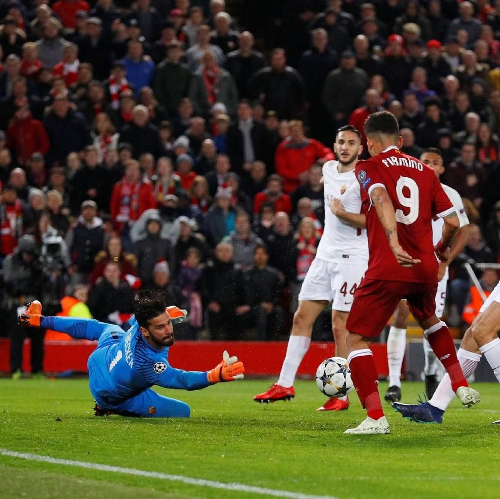 Di Francesco: Penampilan Roma Memudahkan Liverpool