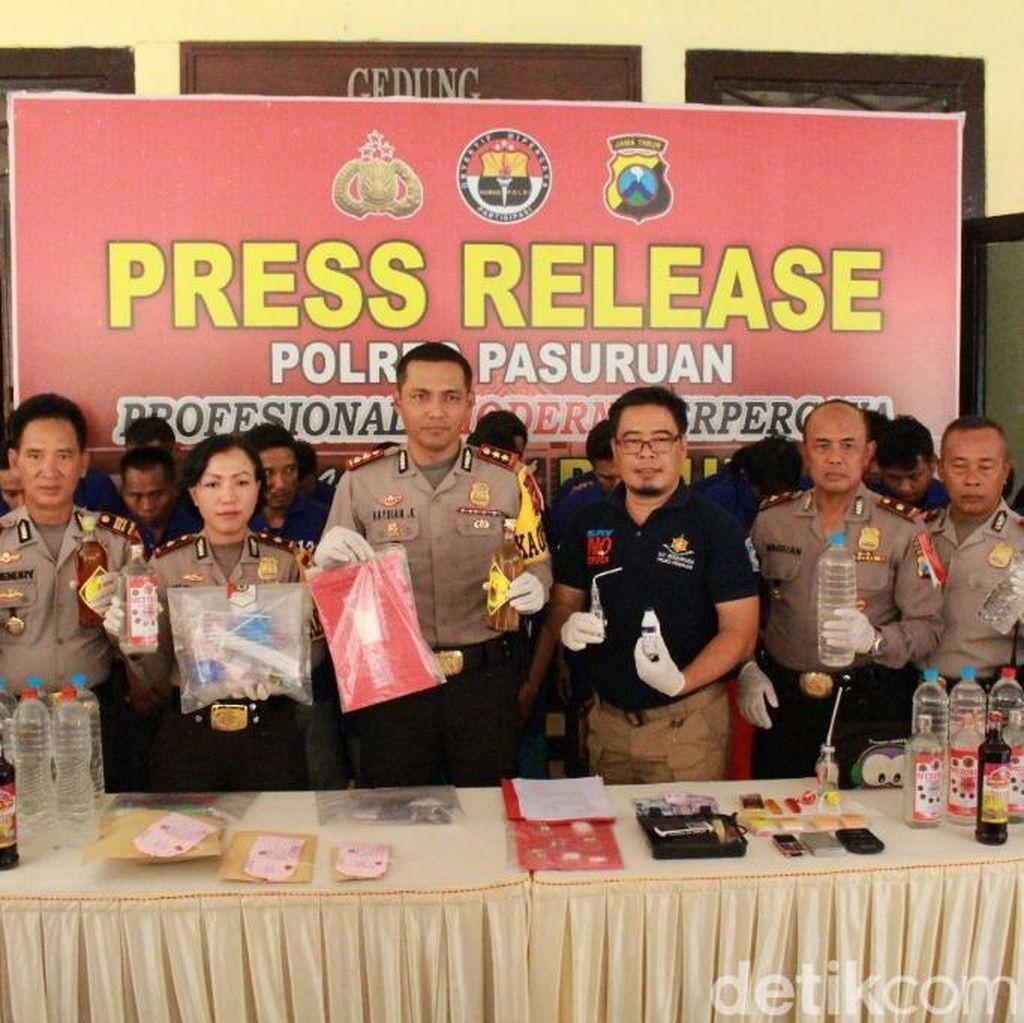 Oknum Anggota Polisi Dibekuk Edarkan Sabu Juga DPO Propam
