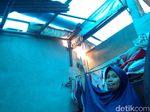 Melihat Rumah-rumah Warga yang Diterjang Puting Beliung di Yogya
