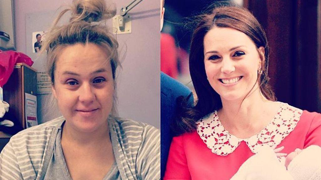 Ekspektasinya Seperti Kate Middleton, Realitanya...