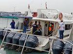 Polisi Periksa Korban Ledakan Kapal Dishub DKI