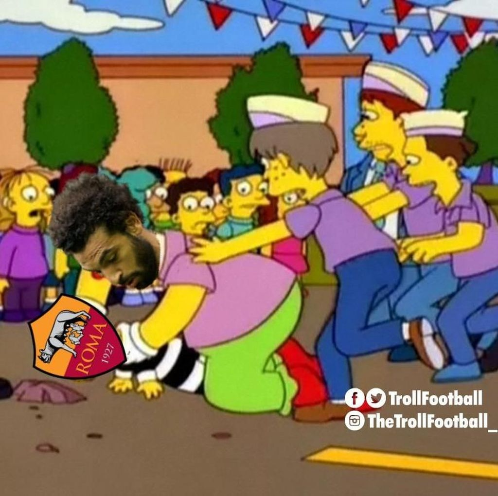 Meme-meme Terbaik di Laga Liverpool vs Roma