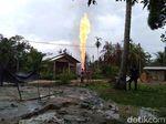 24 Jam Api Menyala di Sumur Minyak Aceh Timur