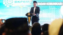 Di Acara Remaja Masjid, Jokowi Ungkap Alasan Pilih Idrus Jadi Mensos