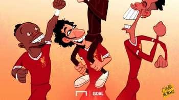 Meme-meme Lucu Roma Dibantai Liverpool Terus Bertebaran