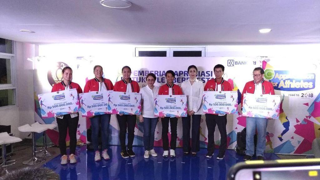 Lima Petenis Indonesia Dapat Asuransi Gratis Senilai Rp 500 Juta