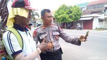 Kakek Pensiunan Polisi Jalan Kaki Surabaya-Jakarta Sudah di Kudus